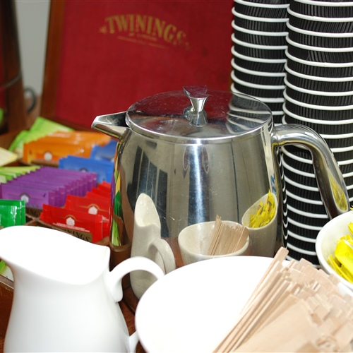 All Day Disposable Coffee and Tea Package