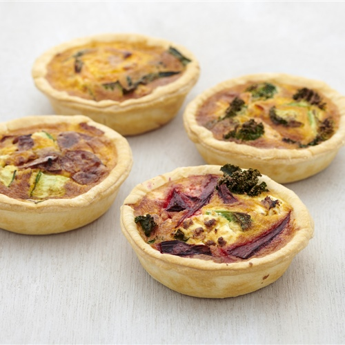 Housemade Individual Quiches