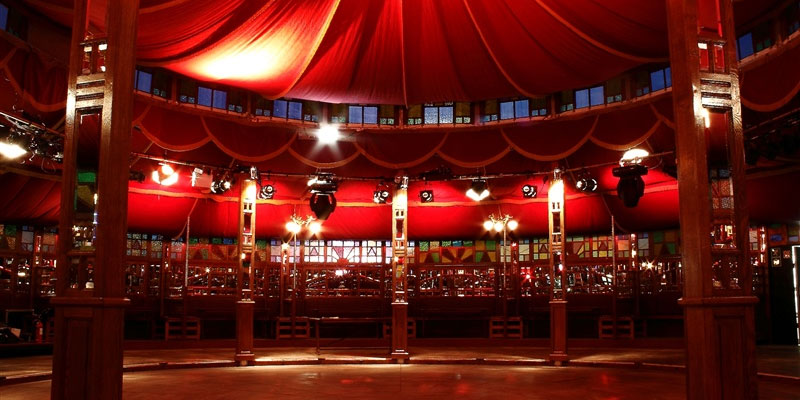 The Wonderland Spiegeltent